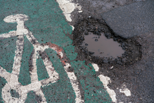 Injured By A Pothole Biking in California? The City Should Pay!